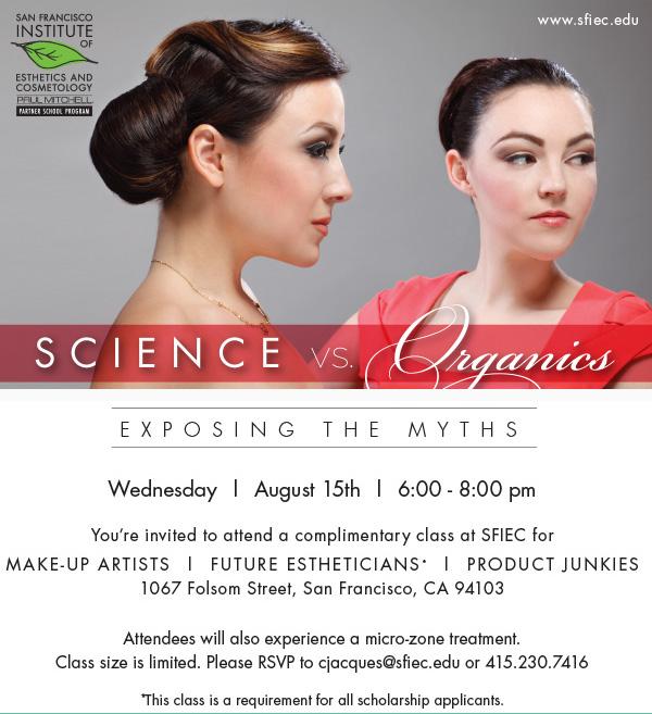 Science vs. Organics Postcard