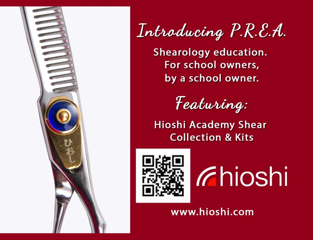 Hioshi Shears Postcard